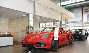 Porsche rood